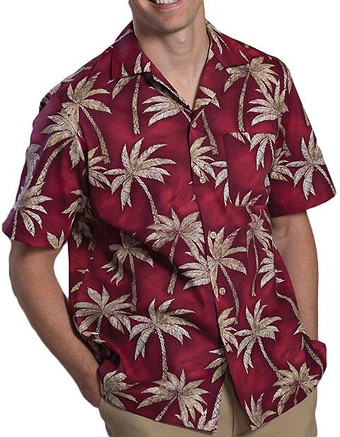 Tropical Palm Camp Shirt