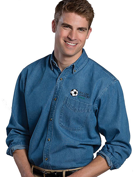 Edward Men's Denim Shirt