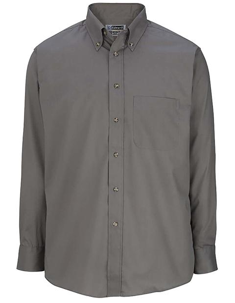 Men's Easy Care Long Sleeve Poplin Shirt