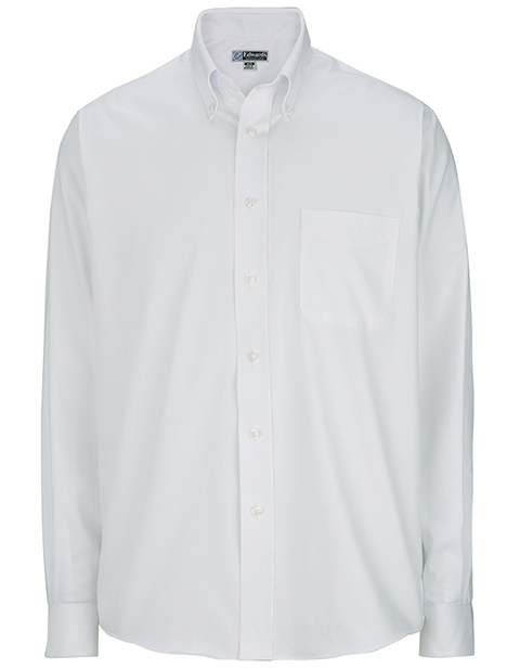 Men's Long Sleeve Pinpoint Oxford Shirt