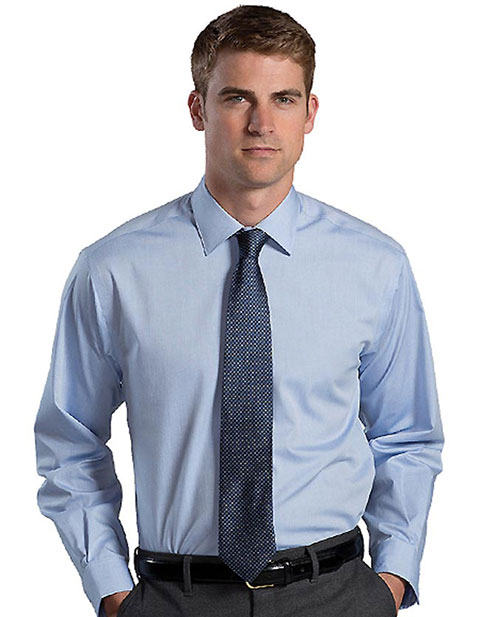 Mens no iron stay collar dress shirt for pulseuniform Mens no iron dress shirts
