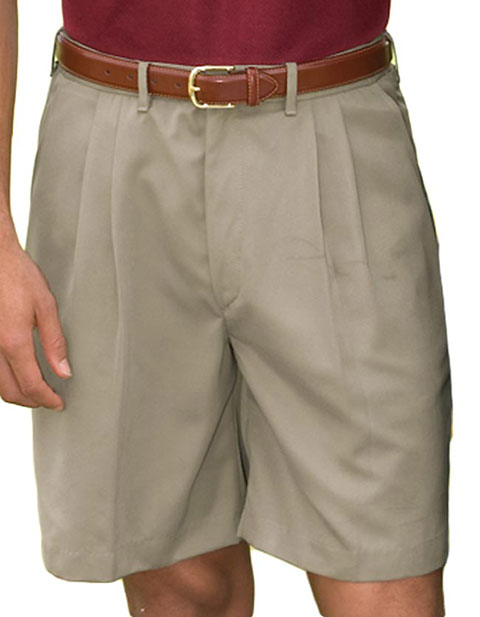 Men's Microfiber Pleated Short 9