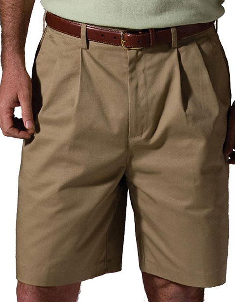 Edwards Men's Utility Pleated Shorts 9 inch Inseam