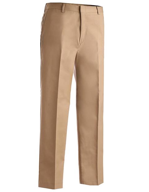 Men's Business Casual Flat Front Pant