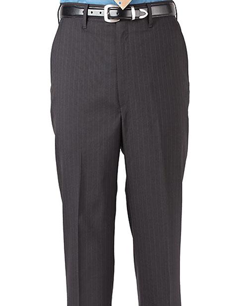 Men's Pinstripe Flat Front Pant