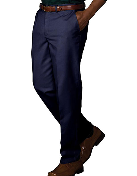 Men's Easy Fit Chino Flat Front Pant