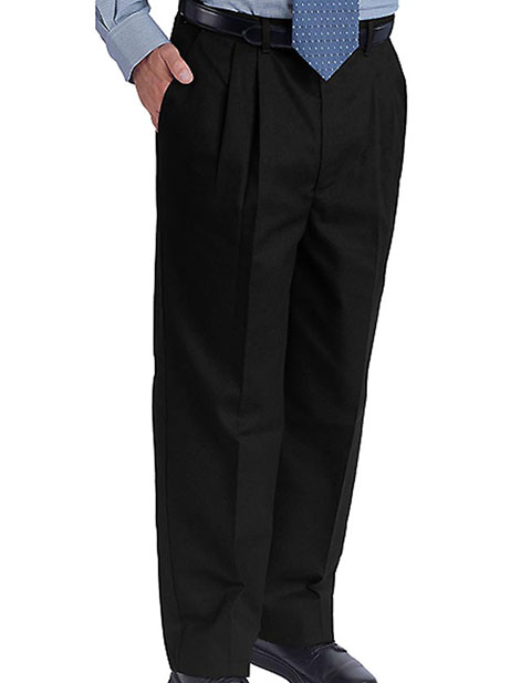 Men's Easy Fit Chino Pleated Pant