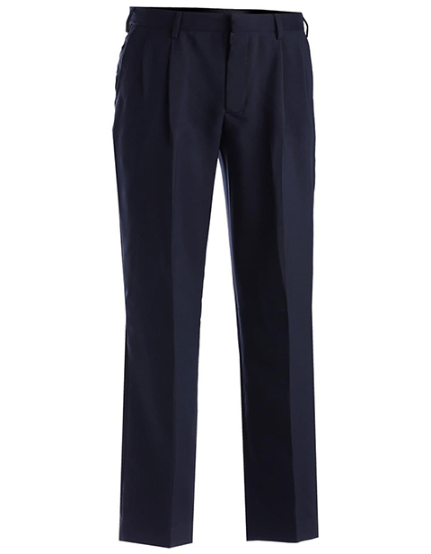 Men's Polyester Pleated Pant