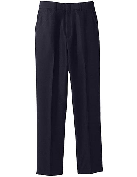 Men's Washable Wool Blend Flat Front Pant