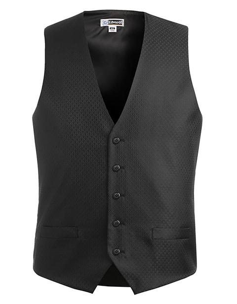Men's Diamond Brocade Vest