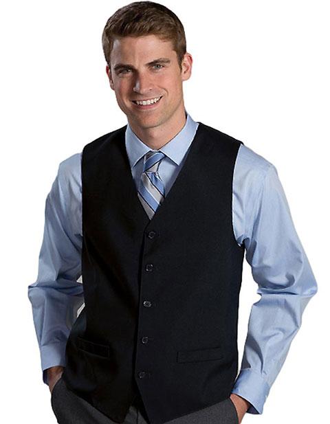 Men's High Button Vest