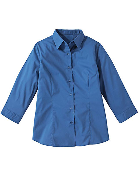 Women's 3/4 Sleeve Maternity Stretch Blouse
