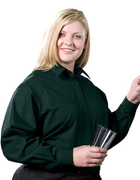 Edward Women's Long Sleeve Cafe Shirt