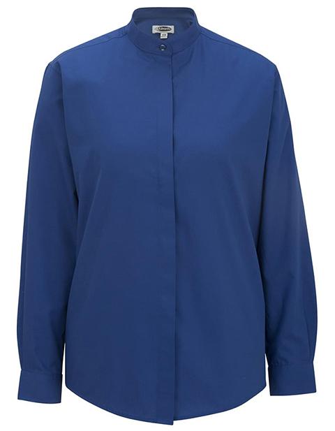 Edward Women's Long Sleeve Banded Collar Shirt