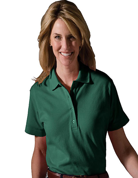 Women's Soft Touch All Cotton Pique Polo