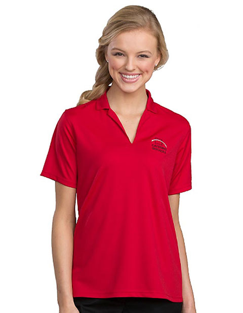 Edward Women's Flat-knit Polo