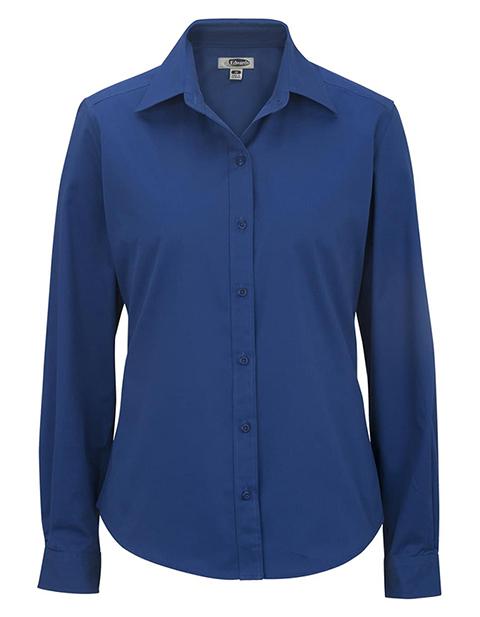 Edward Women's Cotton Plus Twill Long Sleeve Shirt