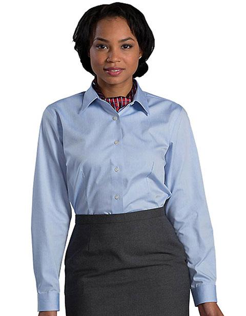 Womens No-iron Stay Collar Dress Shirt