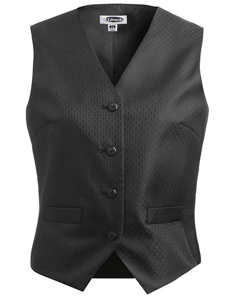 Women's Diamond Brocade Vest