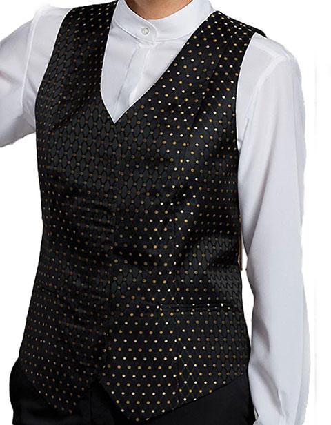 Edward Women's Diamonds And Dots Vest
