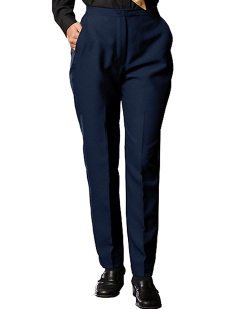 Women's Polyester Flat Front Pant