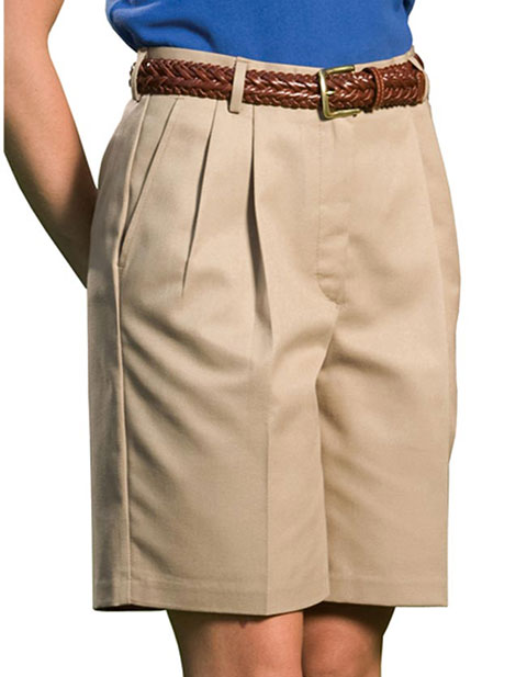 Women's Business Casual Pleated Short 9/9.5