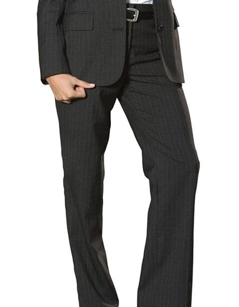Edwards Women's Pinstripe Flat Front Pants