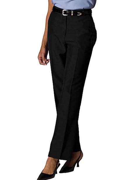 Women's Lightweight Wool Blend Flat Front Pant