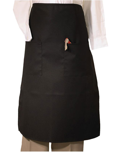 Bistro Apron With Two Pockets
