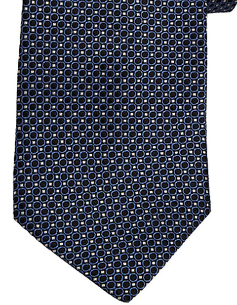 Edward Unisex Circles And Dots Tie