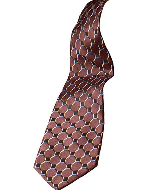 Signature Silk Honeycomb Tie