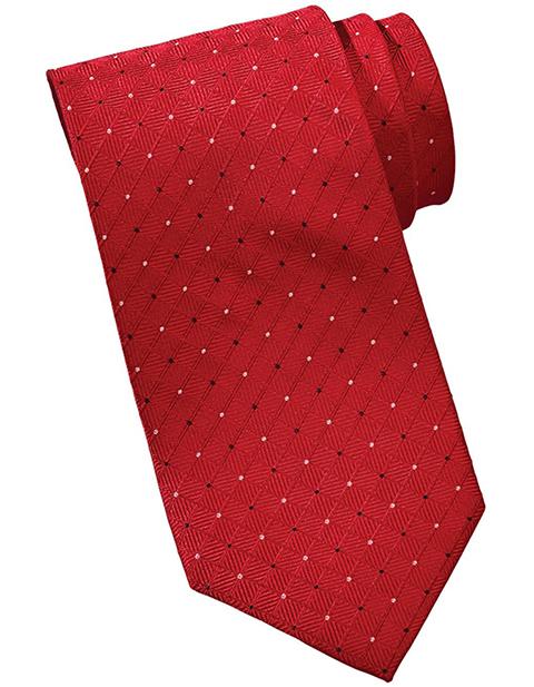 Edward Unisex Trellis Tie