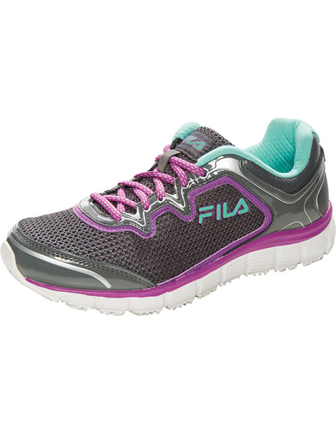Fila USA Women's Slip Resistant Mesh/Overlay Athletic Footwear