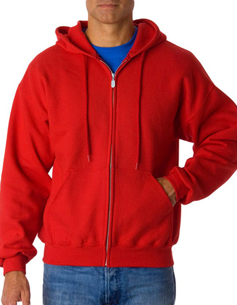 12600 Gildan Adult Gildan DryBlendFull-Zip Hooded Sweatshirt