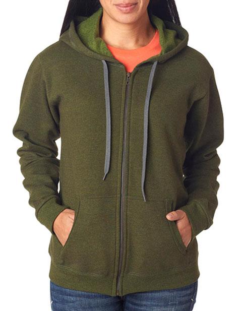 Gildan Missy Fit Heavy BlendVintage Full-Zip Hooded Sweatshirt