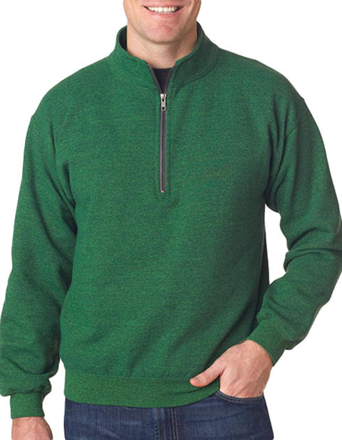 18800 Gildan Adult Heavy BlendVintage 1/4-Zip Cadet Collar Sweatshirt
