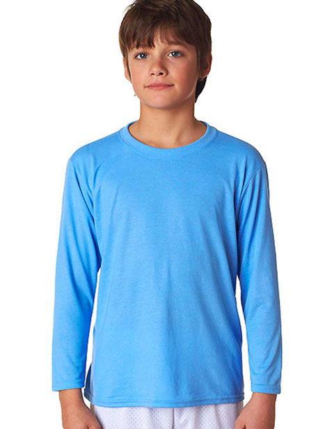 42400B Gildan Youth Core Performance Long-Sleeve T-Shirt