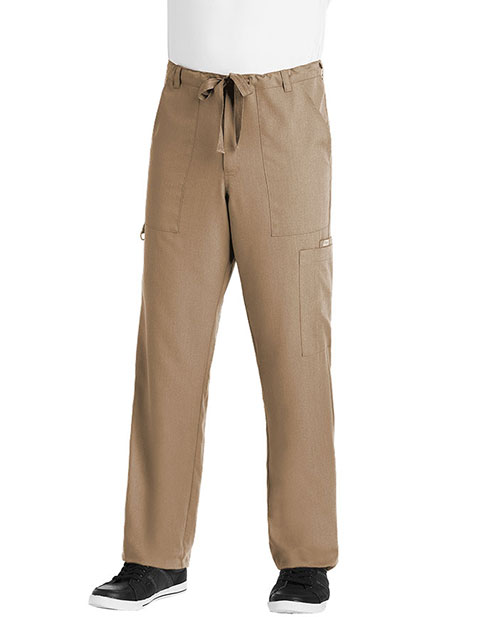 Grey's Anatomy Men Multiple Pockets Zip Fly Medical Scrub Pants