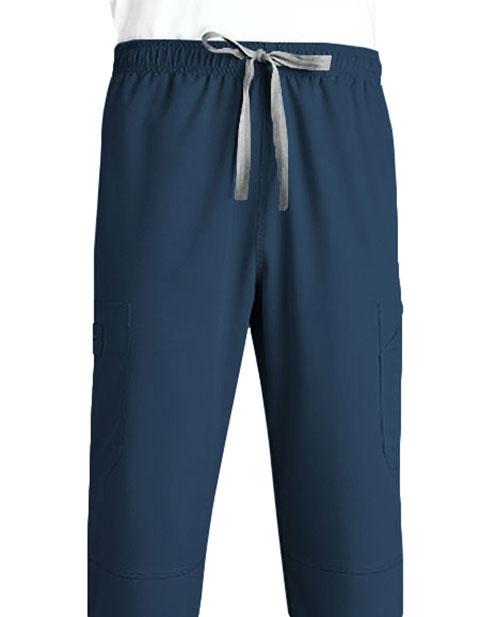 Grey's Anatomy Men's Six Pocket Elastic Cargo Scrub Pant