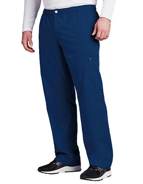 Grey's Anatomy Active Men's Elastic Waist Cargo Scrub Pant