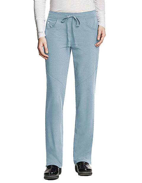 Grey's Anatomy Signature Women's Sofia 5-Pockets Straight Leg Petite Pant