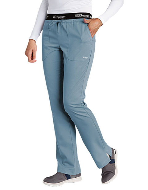 Grey's Anatomy Active 3-Pockets Drawstring Petite Scrub Pant