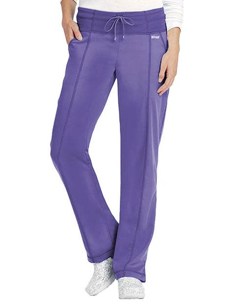 Grey's Anatomy Women's 4 Pocket Yoga Knit Tall Scrub Pants
