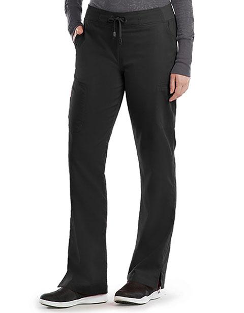 Grey's Anatomy Women's Tie Front Tall Scrub Pant