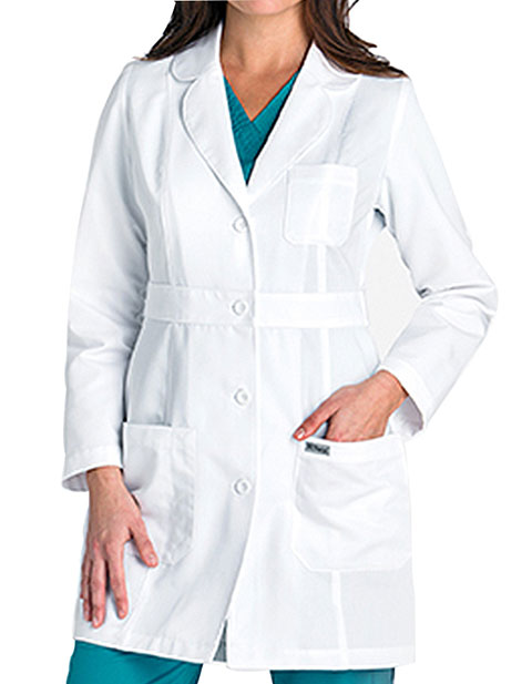Grey's Anatomy Junior Fit 34 inch Two Pocket Medical Lab Coat