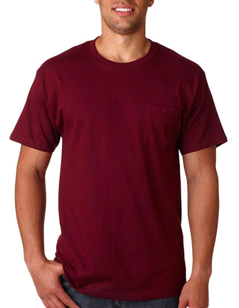 5590 Hanes Adult Tagless® T-Shirt with Pocket