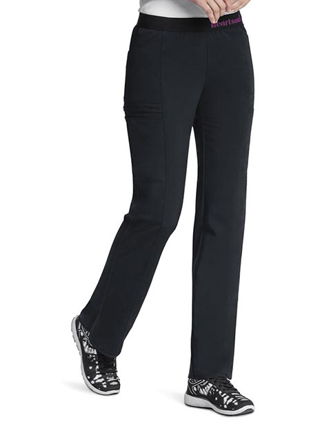 HeartSoul Head Over Heels Women's So In Love Low Rise Pull-on Tall Pant