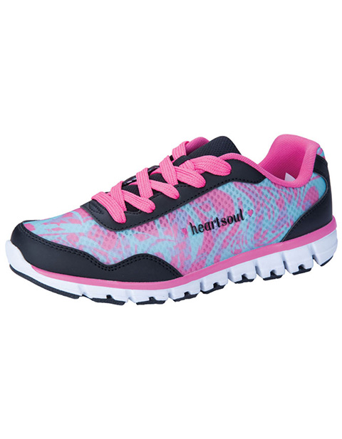 HeartSoul Women's Lightweight Lace Up Athletic Footwear