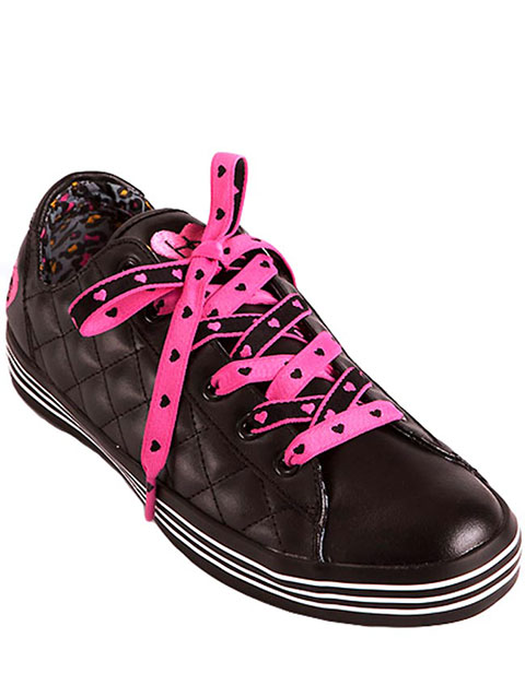 HeartSoul Footwear Women's Lace-Up Sneaker