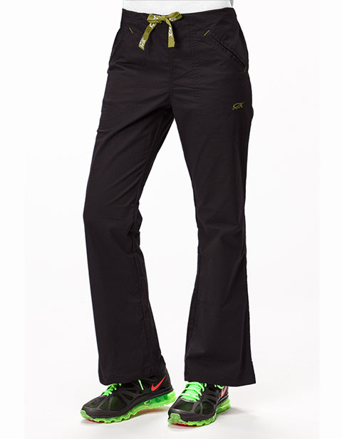 IguanaMed Women's Petite The Quattro Flare Pant